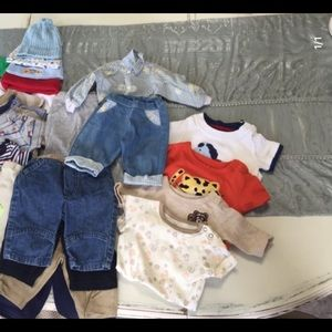 Boy's baby clothes